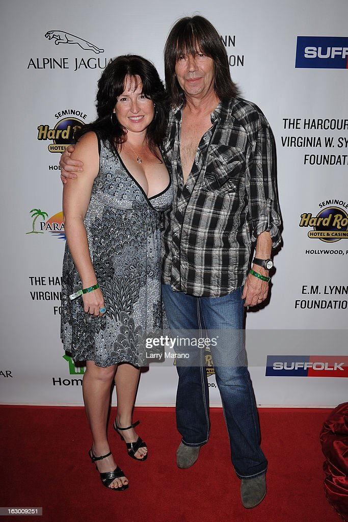 Pat Travers attends Classic Rock And Roll Party to benefit HomeSafe at Seminole Hard Rock Hotel on March 2, 2013 in Hollywood, Florida.