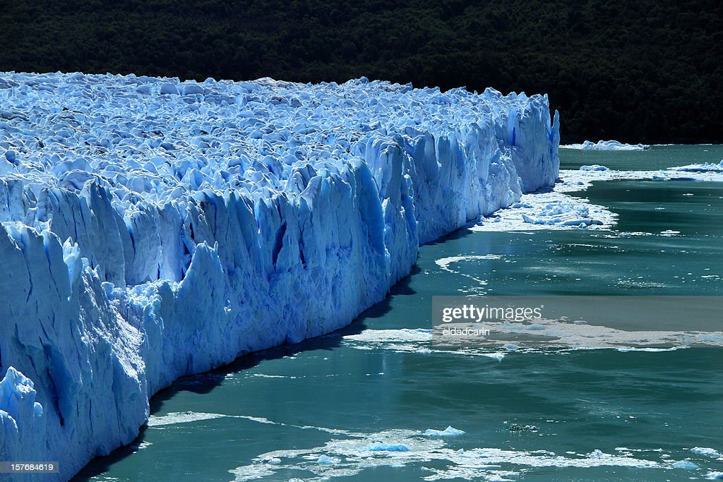Patagonia Glacier Edge : Stock Photo