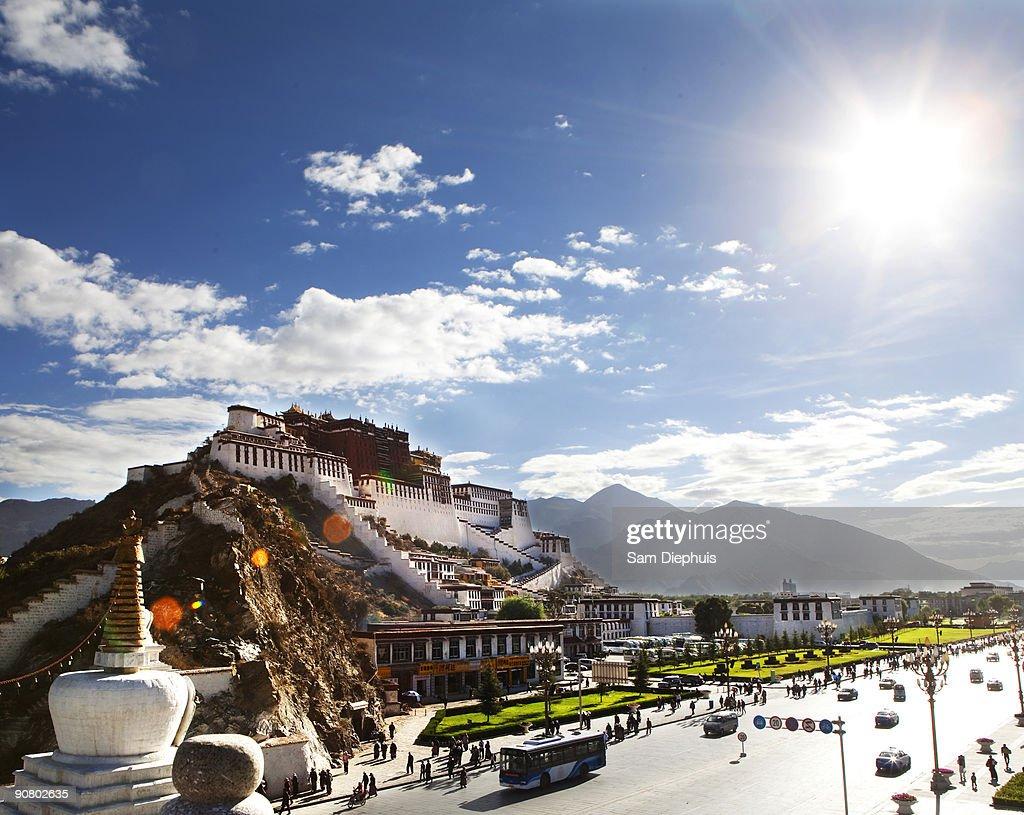Patala Palace Tibet : Stock Photo