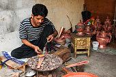 Patan, Metalworker