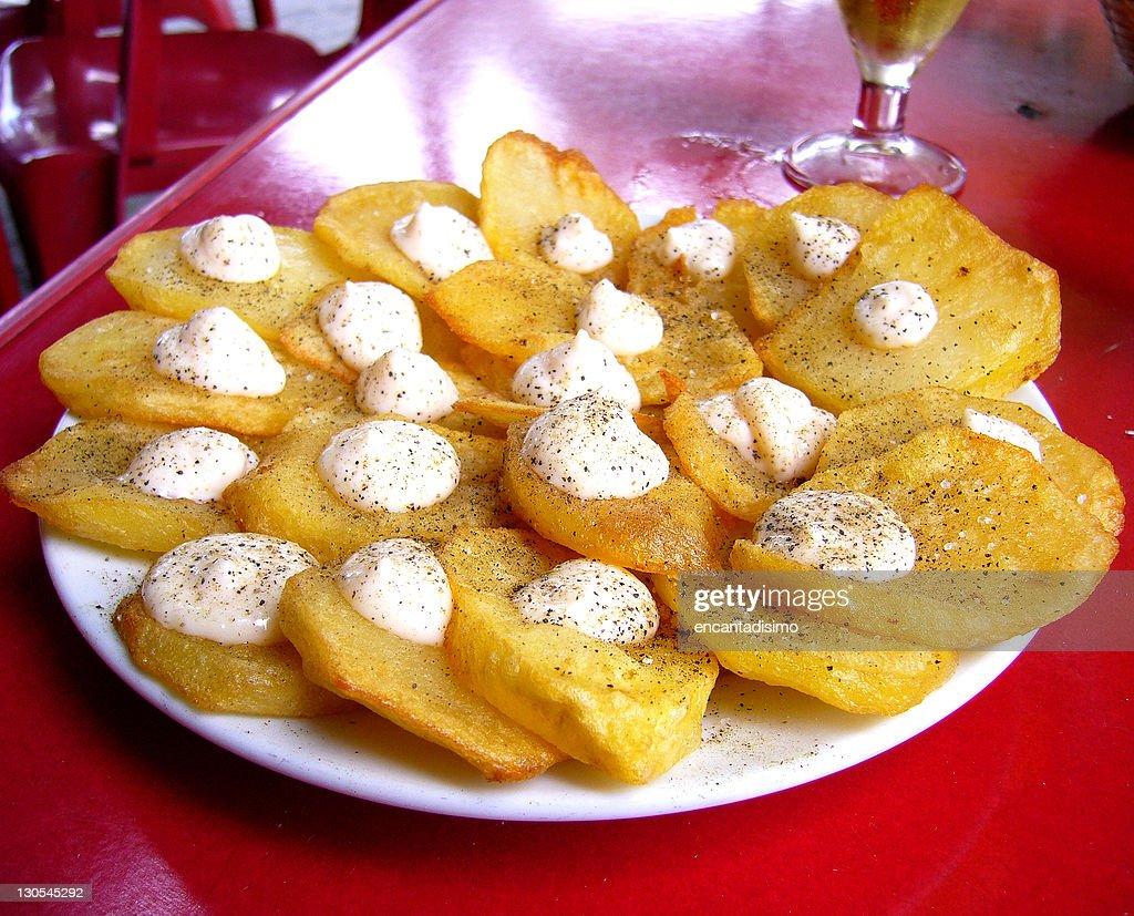 Patatas bravas : Stock Photo