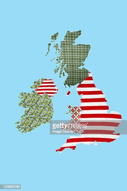 Patchwork British Isles