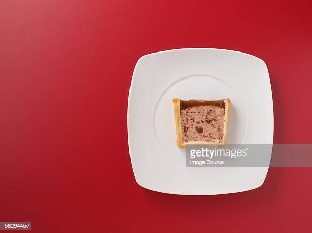 Pate on a plate