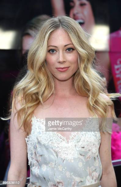 Paten Hughes attends New York Premiere of Sony's ROUGH NIGHT presented by SVEDKA Vodka at AMC Lincoln Square Theater on June 12 2017 in New York City