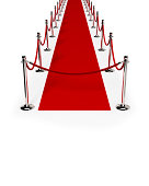 Path of Red carpet & Red rope closed