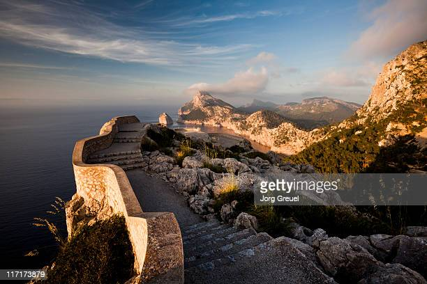 Path to a lookout point at Formentor peninsula