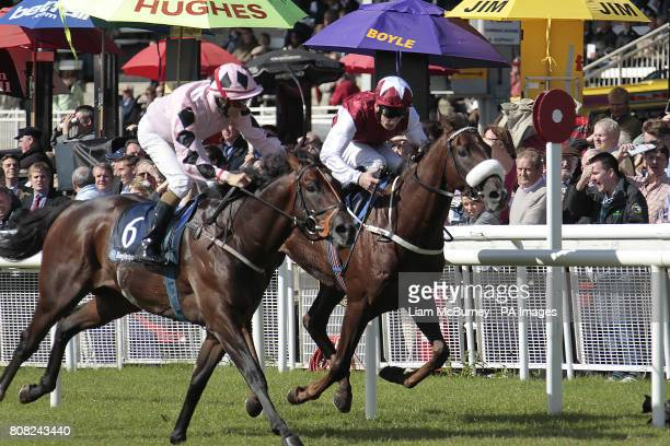 Pathfork ridden by Fran Berry claim victory in the boylesportscom Vincent O'Brien National Stakes on The Irish Field St Leger/Boylesportscom Vincent...