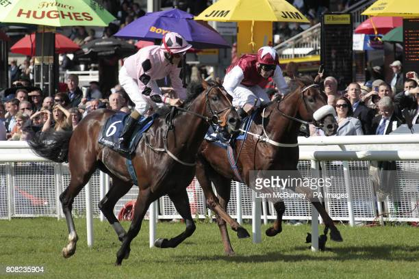 Pathfork ridden by Fran Berry wins the boylesportscom Vincent O'Brien National Stakes on The Irish Field St Leger/Boylesportscom Vincent O'Brien...