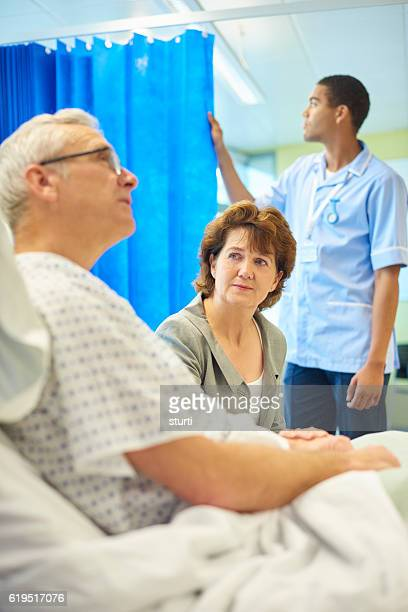 patient and concerned wife