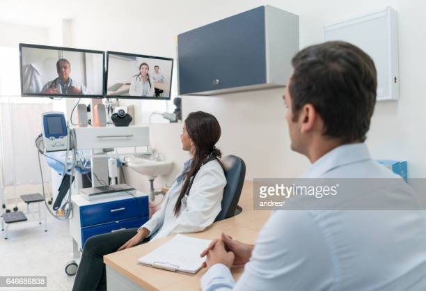 Patient in an online medical consultation