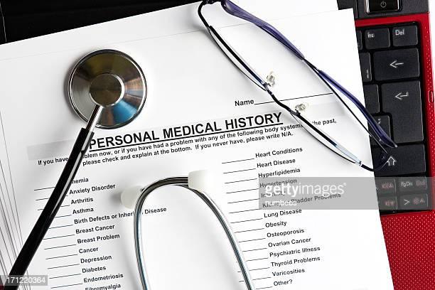 Patienten medical history