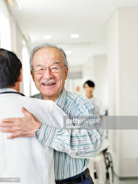 Patient who thanks his doctor