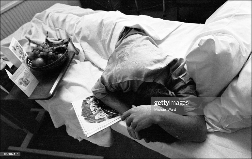 A patient with AIDS at St Mary's Hospital Paddington 1985