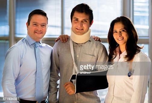 Patient avec assurance maladie