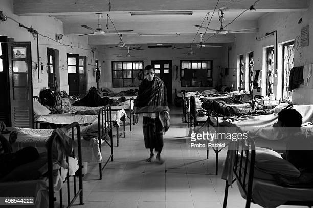 Patients in a TB Hospital called the National Institute of Diseases of the Chest and Hospital Every day patients get admitted in this TB hospital and...