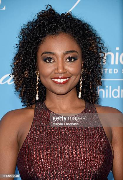 Patina Miller attends the 12th Annual UNICEF Snowflake Ball at Cipriani Wall Street on November 29 2016 in New York City