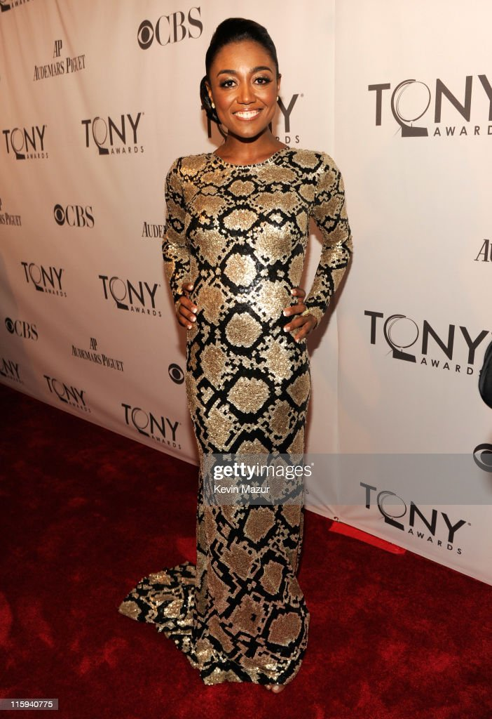 Patina Miller attends the 65th Annual Tony Awards at the Beacon Theatre on June 12 2011 in New York City