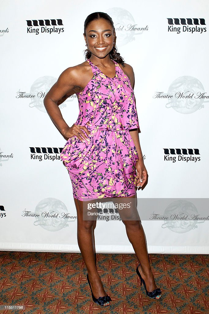 Patina Miller attends the 67th annual Theatre World Awards Ceremony at the August Wilson Theatre on June 7, 2011 in New York City.