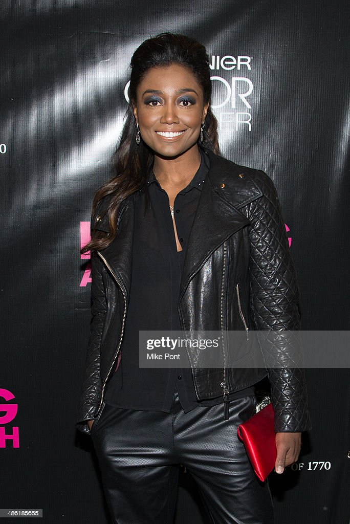 Patina Miller attends the Broadway opening night of 'Hedwig And The Angry Inch' at the Belasco Theatre on April 22, 2014 in New York City.