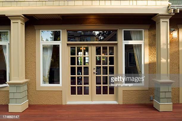 patio entrance home exterior