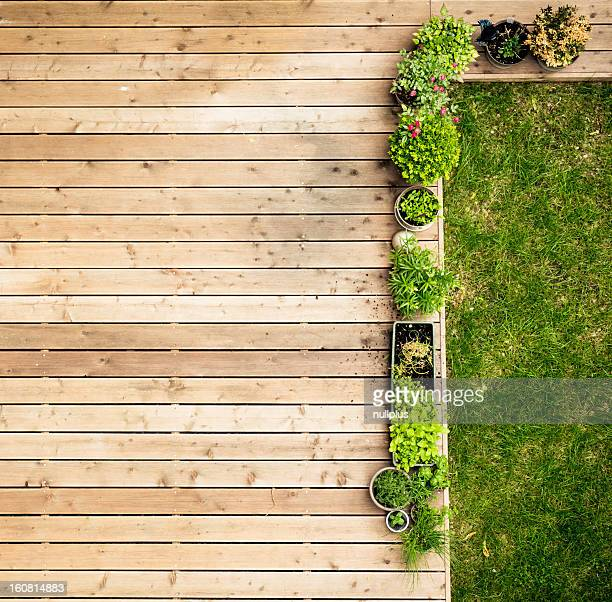 patio von oben
