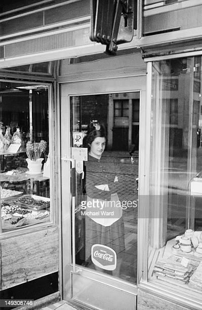 A patisserie in Belgium 28th January 1960 Taken for the 'Let's Go' budget travel guide to Belgium