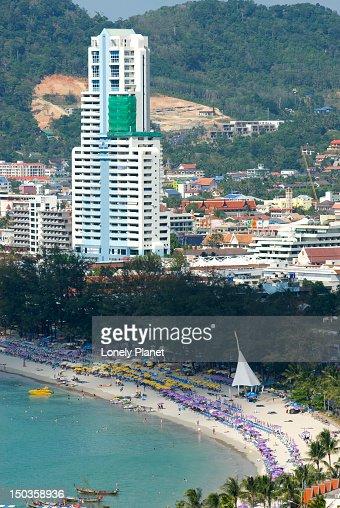 Patong Beach.
