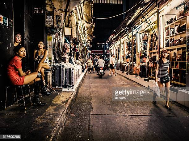 Patpong red light district Bangkok Thailand