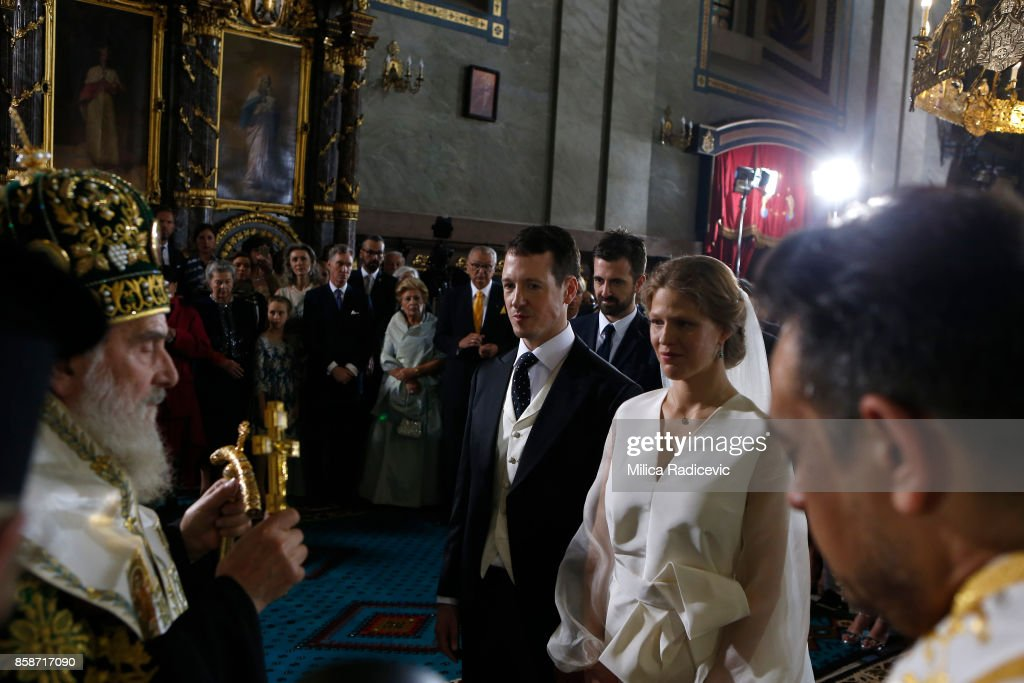 Wedding Of Prince Philip Of Serbia And Danica Marinkovic In Belgrade