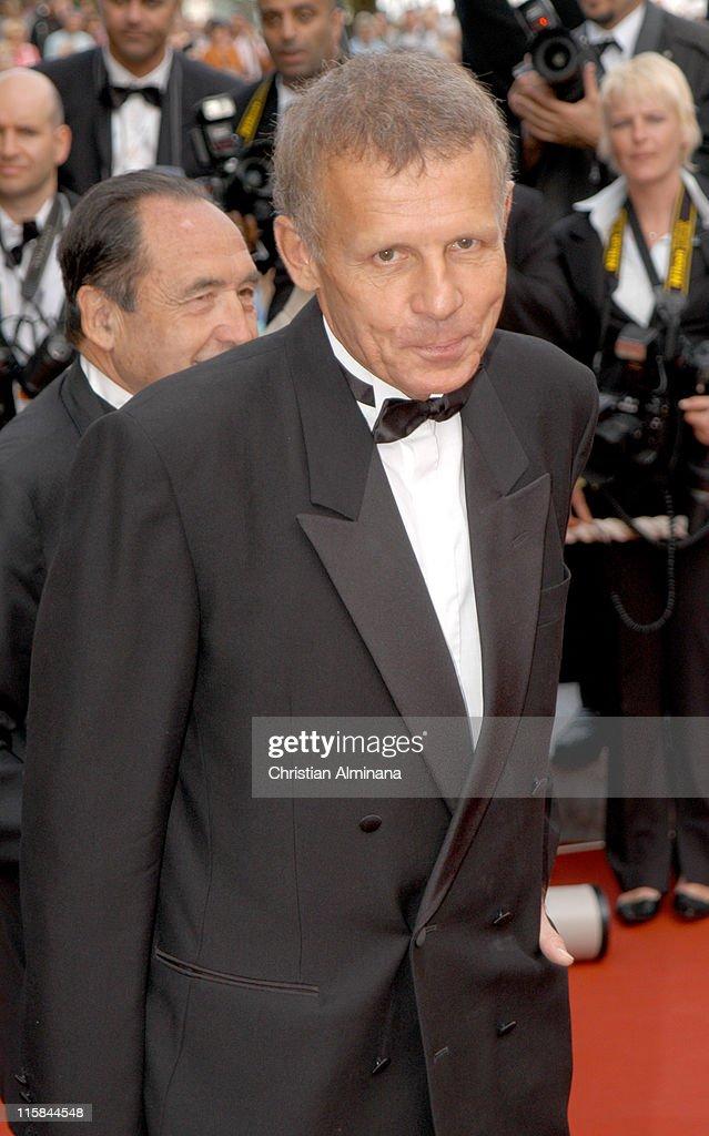 Patric Poivre d' Arvor during 2005 Cannes Film Festival - 'Where the Truth Lies' Premiere at Palais des Festival in Cannes, France.