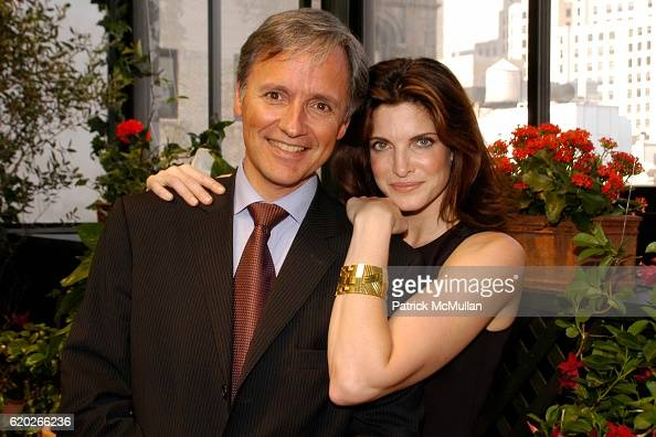 Patrice Kretz and Stephanie Seymour attend Stephanie Seymour and Patrice Kretz Celebrate the Chantelle Ad Campaign at The Gramercy Park Hotel Private...