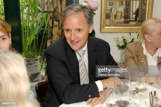 Patrice Kretz attends CHANTELLE 60th ANNIVERSARY LUNCHEON at Le Grenouille on May 15 2009 in New York City