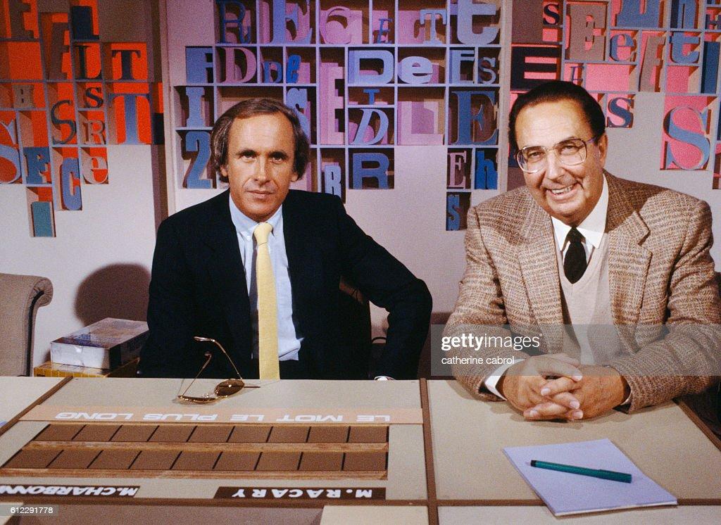 TV Show Des chiffres et des lettres : News Photo