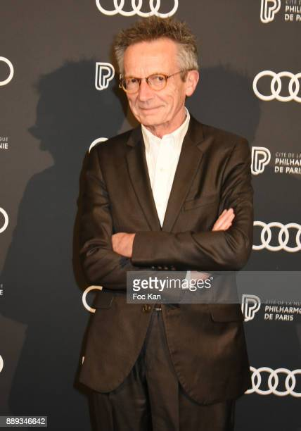 Patrice Leconte attends Celebration Of Gabriel Yared's Film Music At The Philharmonie De Paris on December 9 2017 in Paris France