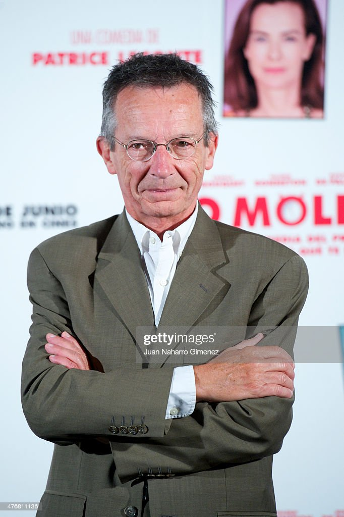 Patrice Leconte attends 'No Molestar' photocall at Instituto Frances on June 12 2015 in Madrid Spain