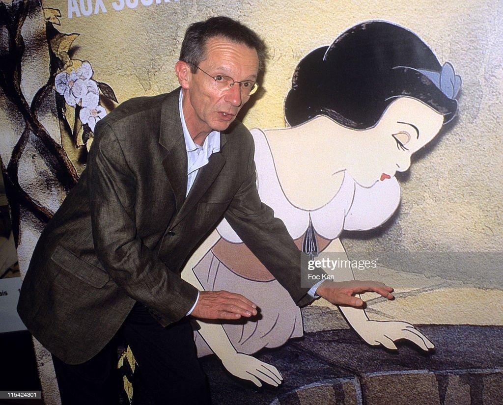Patrice Leconte during Walt Disney Paris 2006 Exhibition at Grand Palais in Paris France
