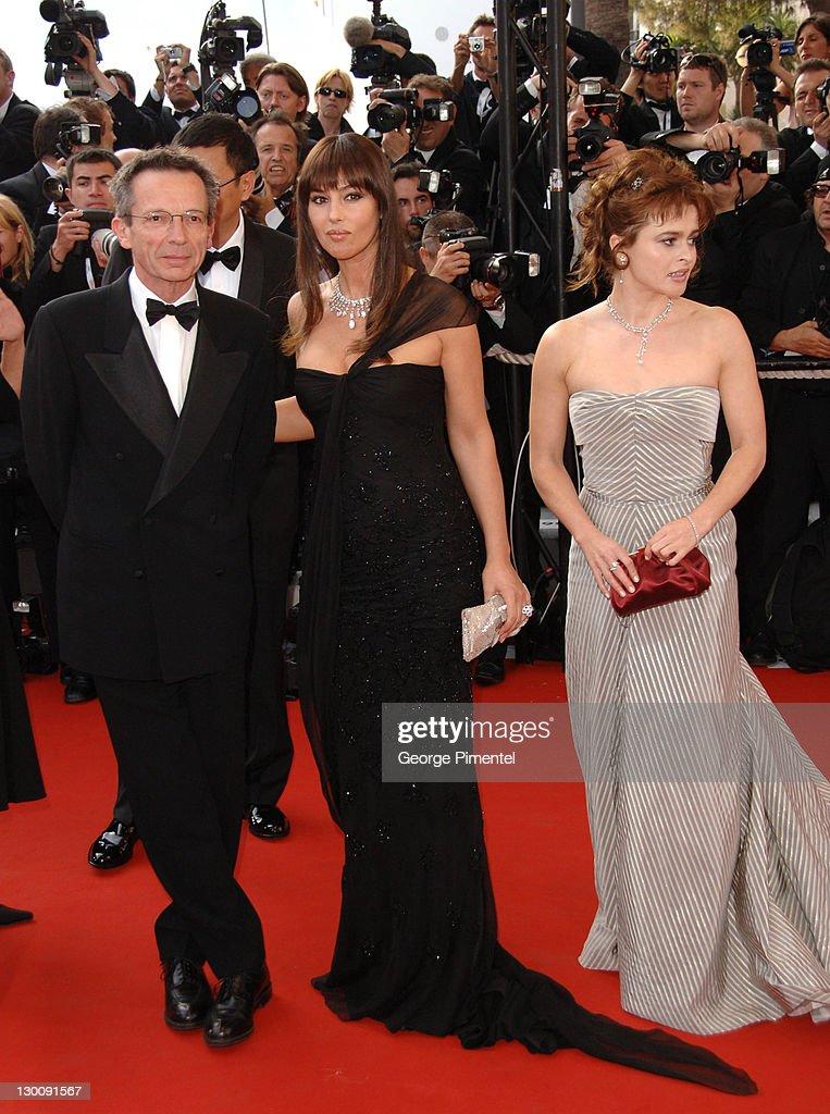 Patrice Leconte Monica Bellucci and Helena Bonham Carter