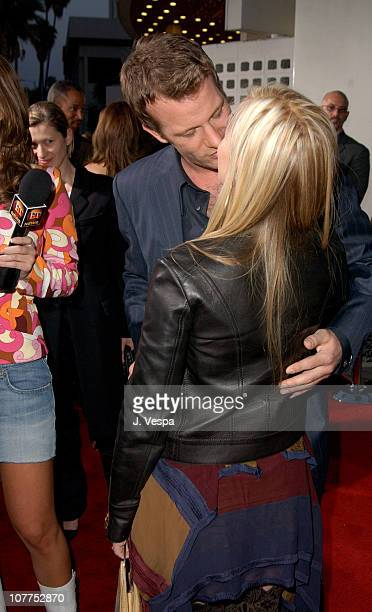 Patricia Arquette and Thomas Jane during 'The Punisher' Los Angeles Premiere Red Carpet at ArcLight Theater in Hollywood California United States