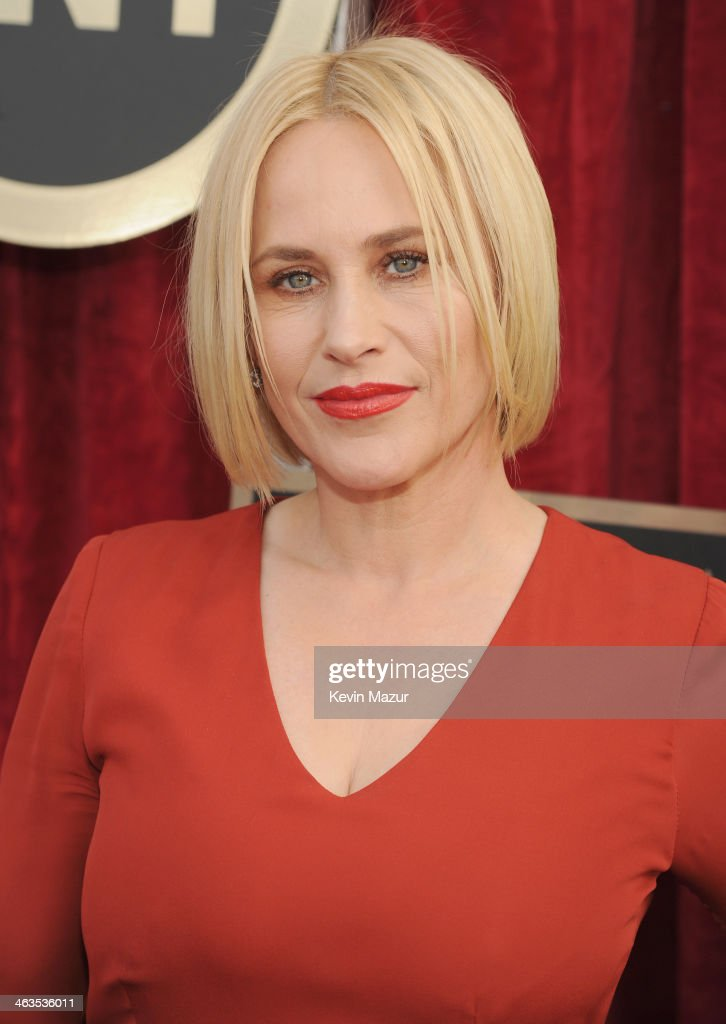 <a gi-track='captionPersonalityLinkClicked' href=/galleries/search?phrase=Patricia+Arquette&family=editorial&specificpeople=206197 ng-click='$event.stopPropagation()'>Patricia Arquette</a> attends 20th Annual Screen Actors Guild Awards at The Shrine Auditorium on January 18, 2014 in Hollywood, California.