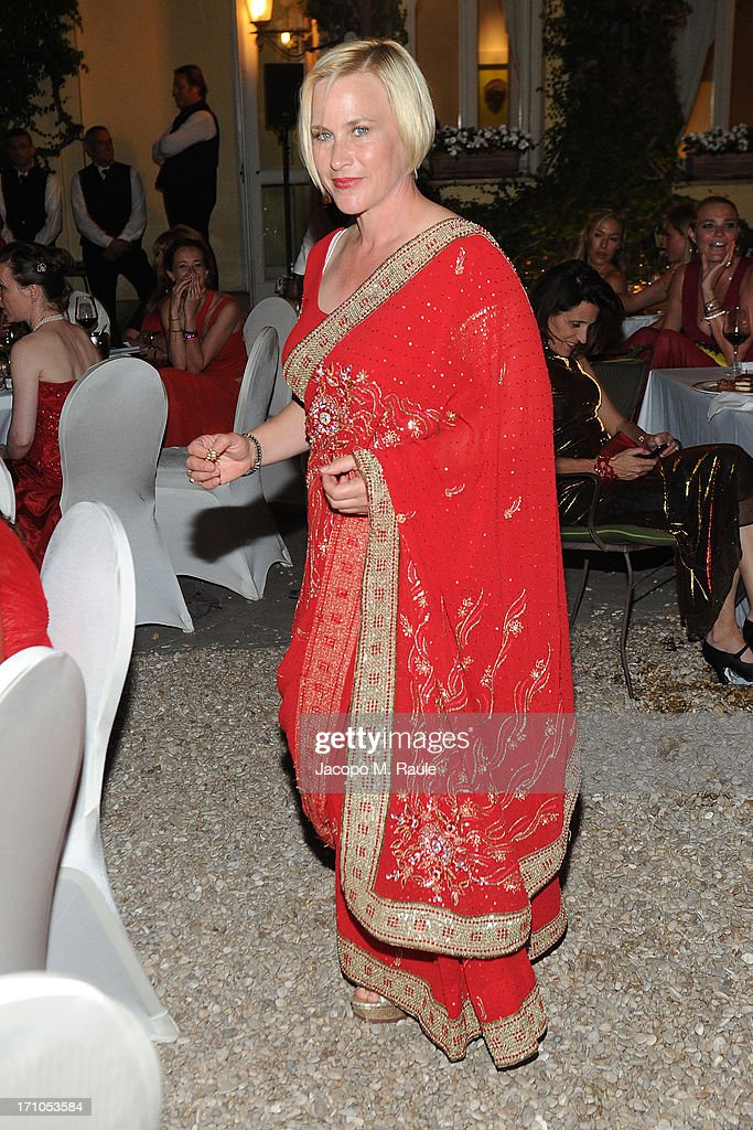 Patricia Arquette attends Cash & Rocket On Tour Women for Women - Gala Dinner and Auction on June 16, 2013 in Rome, Italy.