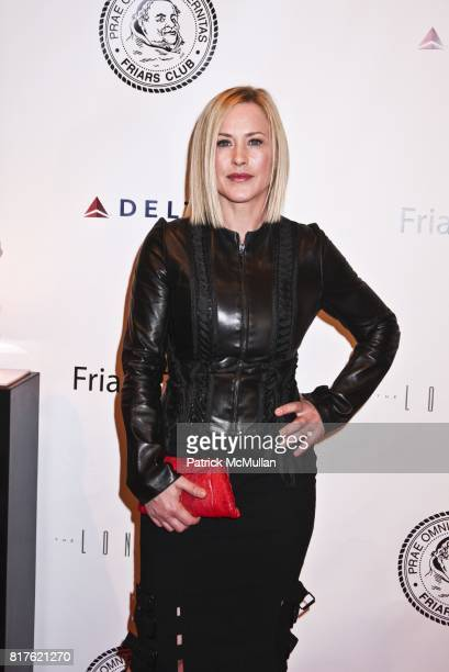 Patricia Arquette attends THE NEW YORK FRIARS CLUB ROAST OF QUENTIN TARANTINO at Friars Club on December 1 2010 in New York City