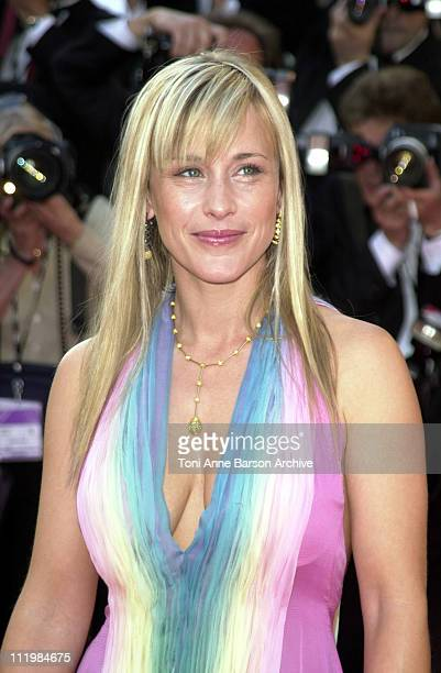 Patricia Arquette during Cannes 2002 Opening Night 'Hollywood Ending' Premiere at Palais des Festivals in Cannes France