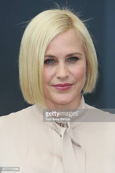 Patricia Arquette poses at a photocall for the TV series 'CSI CYBER' during the 55th Monte Carlo TV Festival on June 14 2015 in MonteCarlo Monaco