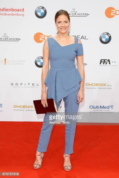 Patricia Aulitzky attends the Lola German Film Award red carpet at Messe Berlin on April 28 2017 in Berlin Germany