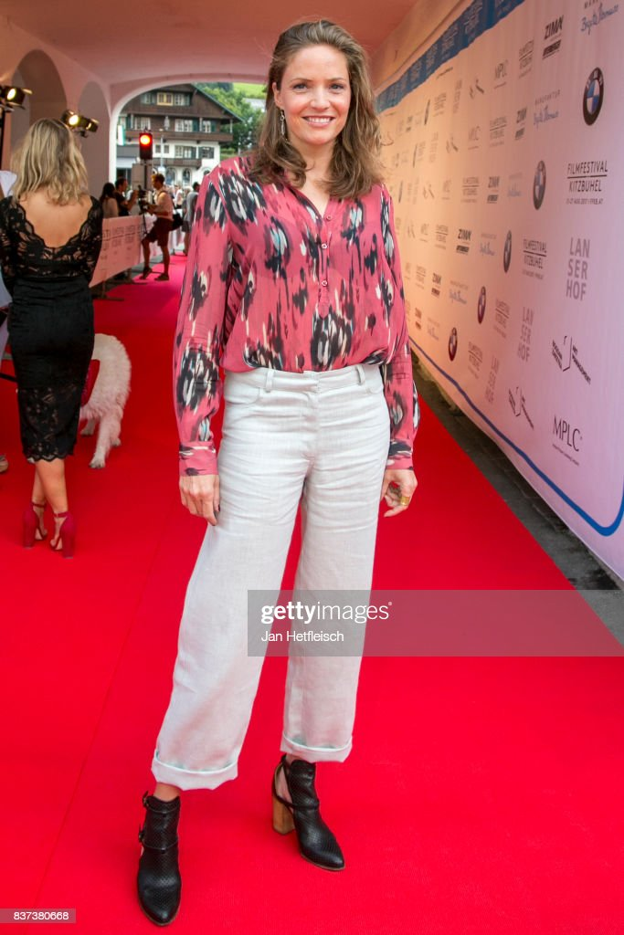 Patricia Aulitzky poses for a picture during the 'Inconvenient Sequel' premiere and opening night of the Kitzbuehel Film Festival 2017 (Kitzbuehel Filmfest) at Filmtheater Kitzbuehel on August 22, 2017 in Kitzbuehel, Austria.