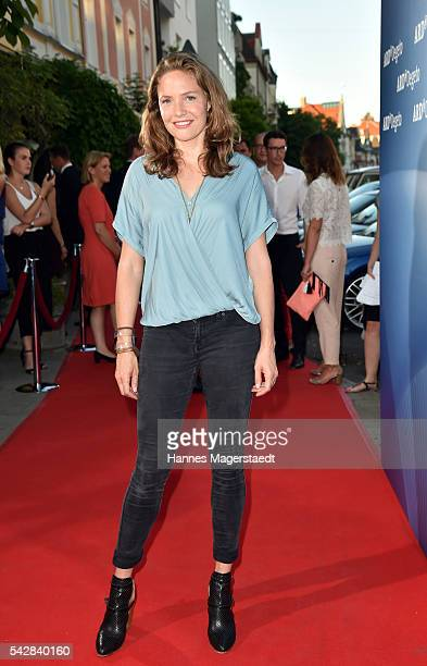 Patricia Aulitzky the ARD Degeto Get Together during the Munich Film Festival 2016 at Kaisergarten on June 24 2016 in Munich Germany