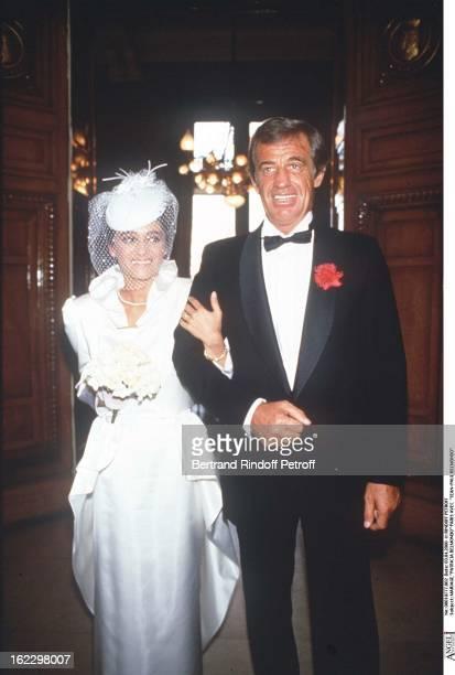 Patricia Belmondo's wedding in Paris with JeanPaul Belmondo