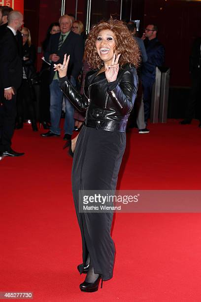Patricia Blanco attends the 'Mamma Mia' Musical Premiere at the Stage Metronom Theater on March 5 2015 in Oberhausen Germany