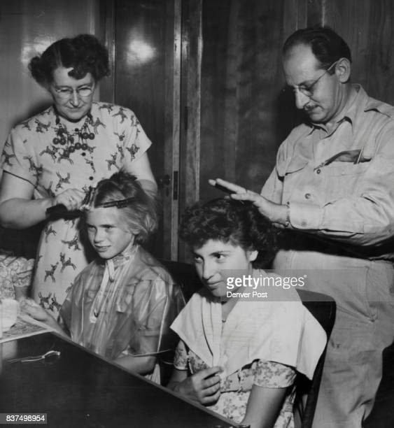 Patricia Bretherton British orphan who has just come to Denver to live in St Clara's orphanage was a little surprised at what happens to American...