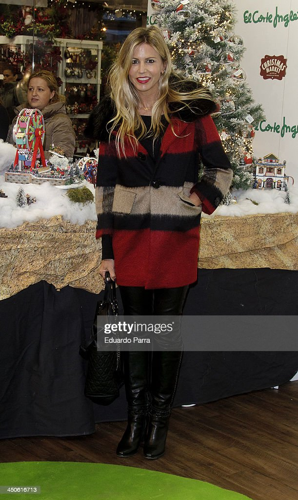 Patricia Cerezo attends El Corte Ingles Christmas space party photocall at El Corte Ingles store on November 19, 2013 in Madrid, Spain.
